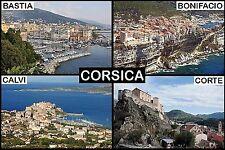 SOUVENIR FRIDGE MAGNET of CORSICA FRANCE