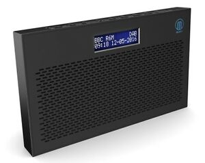 Majority Histon DAB+ DAB FM Digital Portable Radio Black