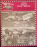 1988 Williams Grove Speedway Program Vol 7 April 15 Darryl Gohn Tribute Kauffman