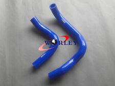 BLUE For HOLDEN Frontera MX 3.2 MPFI Petrol V6 1999-2004 silicone radiator hose