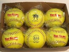 """Cary Guru Asa 12"""" 44-375 (Box of 6) Trump Evil Softballs"""