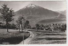 Sigriswil Thunersee Niesen Schweiz - AK Ansichtskarte Postkarte gelaufen 1968