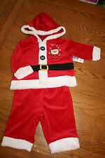 BNWT baby girl/boy Father Christmas /santa fancy dress up outfit. 3-6 months.