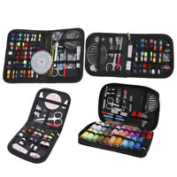 27/72/97/128pcs multifunction sewing box sewing thread stitches tool set case UK