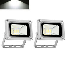 2X 10W LED Floodlight IP65 Outdoor Security Garden Lamp LED Lamp 12V Cool White