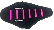 New PINK KAWASAKI Ribbed Seat Cover KX125 KX250 1988-89, KX500 1988-06