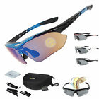 RockBros Polarized Cycling Glasses Eyewear Bike Goggles Fishing Sunglasses