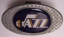 Trailer Hitch Cover NBA Basketball Utah Jazz NEW Diamond Plate Metal