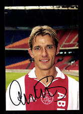Andre Bergdölmo Autogrammkarte Ajax Amsterdam Original Signiert+A 148455