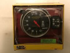 """Autometer Ultimate II Tachometer 5"""" 4 Stage Shift Lite w/ 2 Channel Playback"""