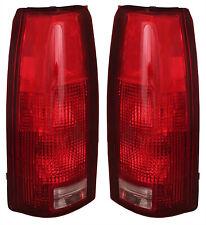 NEW TAIL LIGHT PAIR FITS GMC K2500 K3500 C1500 C2500 SUBURBAN 5977868 GM2801104