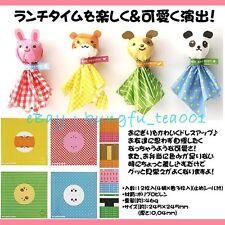 12pcs Panda , Puppy , Rabbit & Hamster Bento Onigiri Rice Ball Food Plastic Wrap