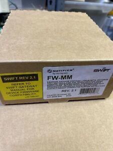 BRAND NEW NOTIFIER FW-MM SWIFT Wireless Modules Fire Alarm