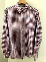 Trenery Men's size XL Multi Coloured Cotton Long Sleeve Button Down Casual Shirt