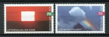 Germany 2019 MNH Sky Events 2v Set Sun Rainbow Clouds Stamps