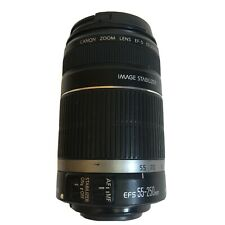 CANON Telephoto ZOOM LENS EF-S 55-250mm IMAGE STABILIZER 1:4-5.6 IS
