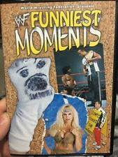 WWF WWE Funniest Moments region 4 DVD (wrestling) Steve Austin The Rock DX *rare