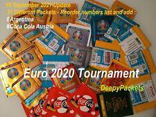 EURO 2020 TOURNAMENT PACKET BUSTINA POCHETTE TUTEN SOBRE PACK ENVELOPE CHOOSE
