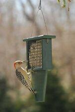 Songbird Essentials Suet Feeder w/ Tail Prop, Hunter Green