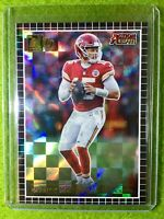PATRICK MAHOMES PRIZM CARD JERSEY #15 CHIEFS SP REFRACTOR INSERT 2019 Donruss SP