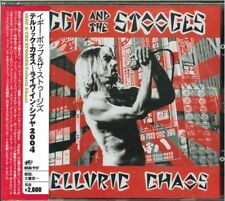 IGGY & THE STOOGES-TELLURIC CHAOS-JAPAN CD G35