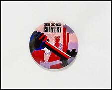 Big Country Vintage 80's Original Button Pin Badge Steeltown