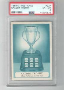 1969 OPC O-Pee-Chee # 227 PSA 6 Calder Trophy