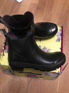 joules welliebob Wellies Size 6 Black