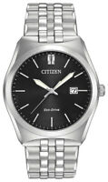Citizen Eco-Drive Men's BM7331-64E Date Display Black Dial Band 40mm Watch