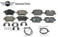 For Mini Cooper R60 Countryman Set of Front & Rear Brake Pads w/ Sensors Genuine