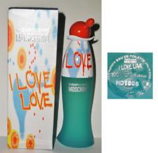 I LOVE LOVE Moschino Eau de Toilette 100 ml Spray OVP