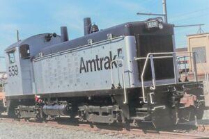 """EMD SW1200 """"YARD GOAT"""" AMTRAK #565 DC 2-Rail DCC Digital Sound NEW"""