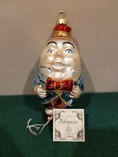 Kurt Adler Komozja Polonaise Humpty Dumpty Christmas Tree Ornament