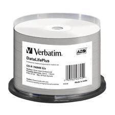 CD-R 52x FF Printable Verbatim Pro. Tarrina 50 uds (no ID)