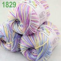 Sale lot 3 Skeins x50g Cashmere Silk Wool Children Hand Knitting Crochet Yarn 29
