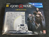 God of War Leviathan Grey Limited Edition 1TB Playstation 4 Pro PS4 - BN&S