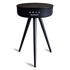 Deco Home Smart Bluetooth Speaker Table with USB and Wireless Charging - Black