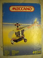 Meccano 4034 Leaflet 44 Colour Pages - Made In France