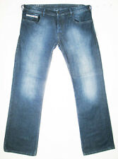 *HOT AUTHENTIC Men's DIESEL @ ZATINY 88Z - BOOTCUT DARK Blue Denim Jeans 36 x 32