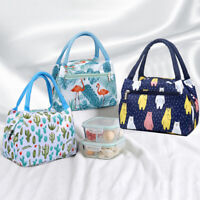 KQ_ Insulated Lunch Bag Thermal Cooler Women Kids Picnic Food Box Tote Carry Bag