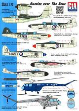 CTA Decals 1/72 AUSSIES OVER THE SEA Royal Australian Navy Aircraft