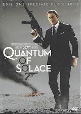 2 Dvd **007 ♦ QUANTUM OF SOLACE** Ediz. Speciale con Daniel Craig nuovo 2008