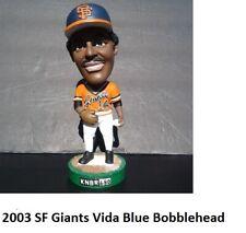 San Francisco Giants 2003 KNBR Vida Blue Bobblehead Bobble SF Orange Jersey NIB