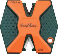 Accusharp ASAS335CD Sharp N Easy Blaze Orange Two Stage Pocket Knife Sharpener
