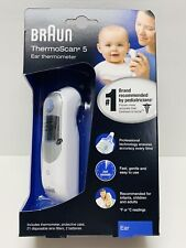 ~BRAND NEW~ Braun IRT6500 Thermoscan 5 Ear Thermometer FAST SHIPPING!