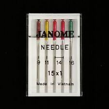 Genuine Janome Needles, Sharp Mixed Sizes