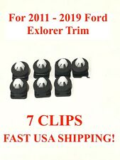 2011-2018 Ford Explorer Windshield Molding Clips With Sealer 7 Piece