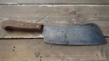 "Antique Butch Knife Beautiful PATINA 12"" with 7"" Blade"
