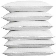 Pillow Homely Sleeping soft and comfort Hollow Microfiber Six Pieces White color