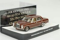 Mercedes-Benz 200 D /8 W115 For your eyes only James Bond Movie 1:43 Ixo